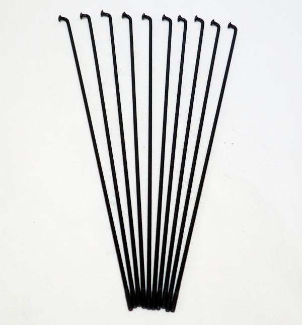 Rayos Importados 195x2mm Negro