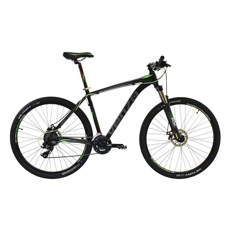 "Bicicleta R29 Alum 24v Venzo Eolo Shadow T20""l Neg Verde Gr"