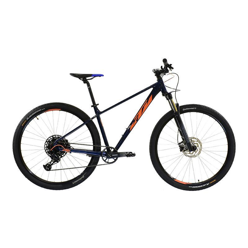 "Bicicleta R-29 Alum. 12v Ktm Ultra Ride T17""m Azul Naranja"