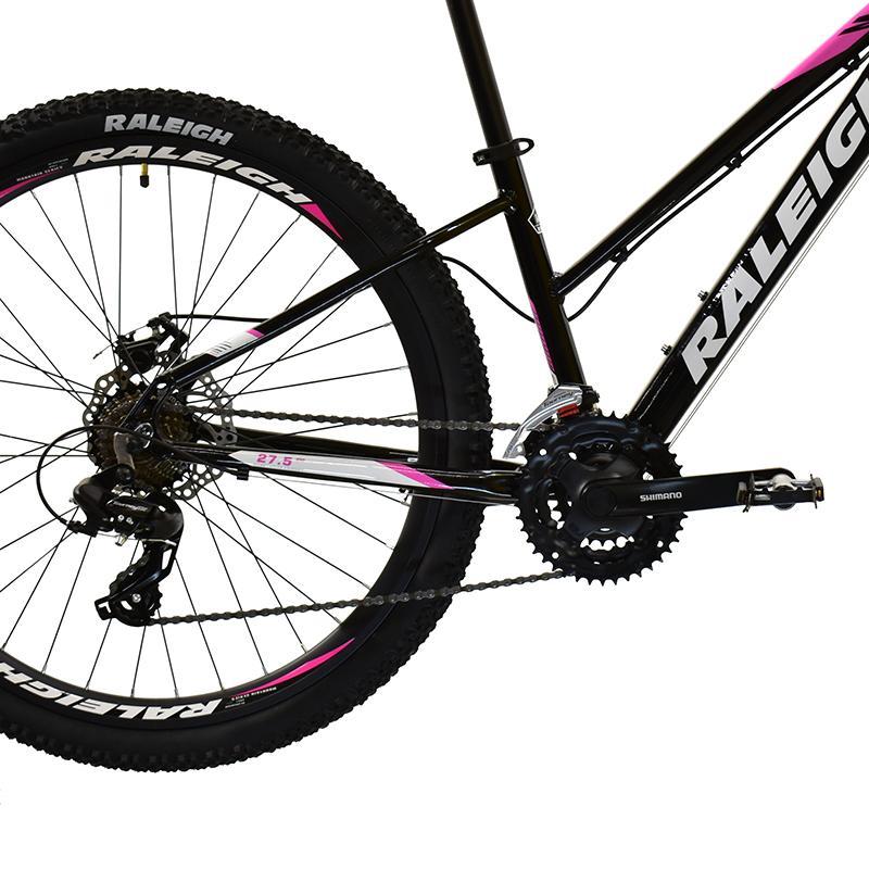 "Bicicleta R-27.5 Alum 21v Raleigh M- 2.0 T17""m  Negr Rosa Bl"